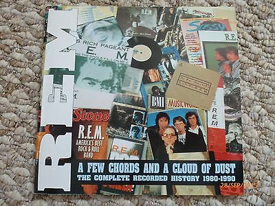 REM, A Few Chords And A Cloud Of Dust 1980-1990, Book