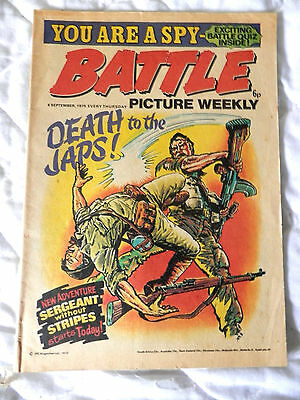 BATTLE pic ture weekly (1975)