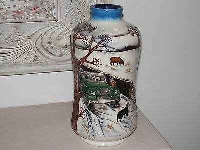 1St Quality Moorcroft Winters Feed Vase By Anji Davenport 8 Inch Retail £695