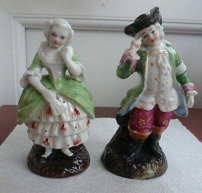Pair Of Small Antique Figures