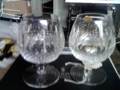 waterford glass colleen brandy x 2