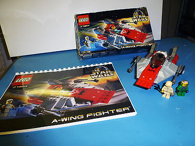 Lego Star Wars A-Wing Fighter Ref 7134 Complet