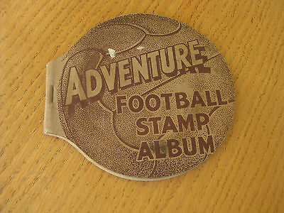 Adventure Football Stamp Album 1936 D. C. Thomson Comic Giveaway