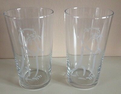 2 X New Otter Ale / Bitter Brewery Pint Glasses