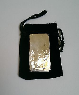 150g Hand Poured 999 Silver bar investment pure bullion invest