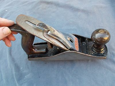 Vintage Stanley Bailey No.4 Wood Plane - Tungsten Vanadium Blade