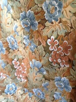 vintage french, uphoilstry fabric, tapestry, 3.3 meters x 135cm