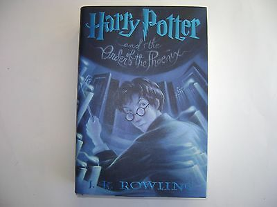 Harry Potter and the Order of the Phoenix. 1st US Edition.