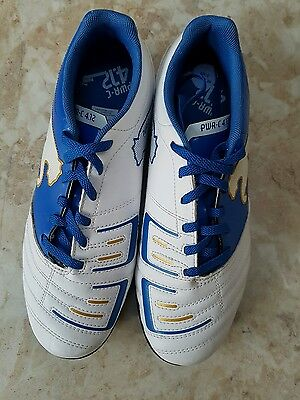 Puma New Astro Turf Football Trainers PWR-C 4.12  white size 6 39