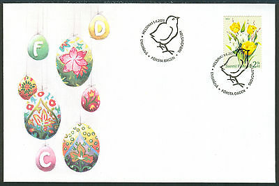 FINLAND 2011 stamp Easter Flowers Tulips on FDC SA