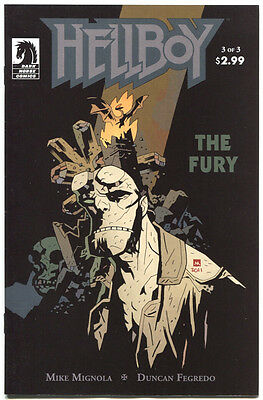Hellboy The Fury 3 A of 3 Dark Horse 2011 FN