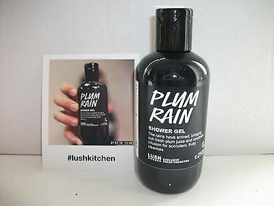 LUSH KITCHEN EXCLUSIVE: PLUM RAIN SHOWER GEL - 250g (NEW: SEPT 2017)