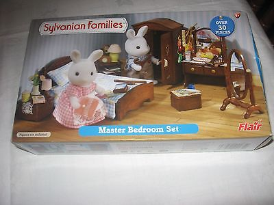 Sylvanian Families master bedroom set with box