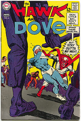 The Hawk And The Dove 4 1st Series DC 1969 FN