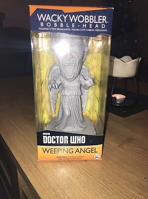 Dr Who Weeping Angel Bobble Head Figure