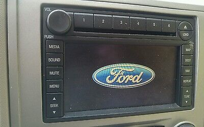 2008 Ford Escape Navigation CD Player With Nav DVD