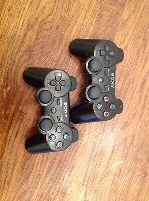 2x Official PS3 Controller Wireless (PlayStation)
