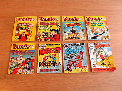 Dandy comic library from No.1 plus Whizzer & Chips, Buster etc.