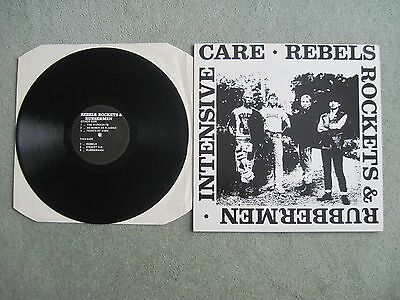 """INTENSIVE CARE REBELS ROCKETS & RUBBERMEN 12"""" 1987 Oi Skins UK Subs Control ISD"""