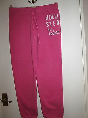 Track Suit Bottoms By Hollister California  1St Place Xs Pink Good Condition