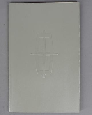 Lincoln 2008 Full Line Deluxe Embossed Cover Sales Brochure / Literature