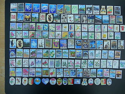 Japan stamps. 150 different pictorials used off paper includes prefectures. 147