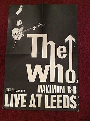 The Who / Maximum R & B Poster