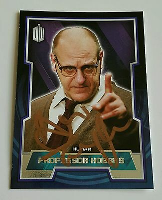 Topps Dr Who Signed Card by David Troughton