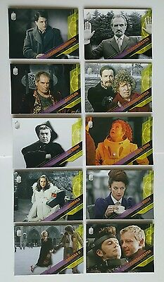 Topps Dr Who Timeless Time Travelers 10 Card Set
