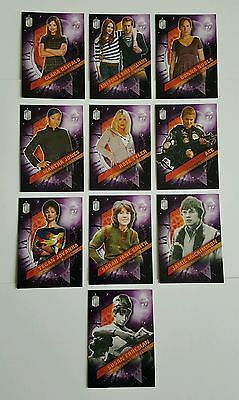 Topps Dr Who Timeless Companions Across Time 10 Card Set