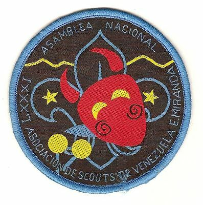 National Conference Adults 1996 - Scouts Venezuela