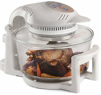 Andrew James Halogen Oven Cooker 12L with full accessories pack and cookbook