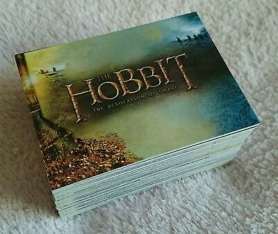 Cryptozoic Hobbit the Desolation of Smaug Complete Trading Card Set