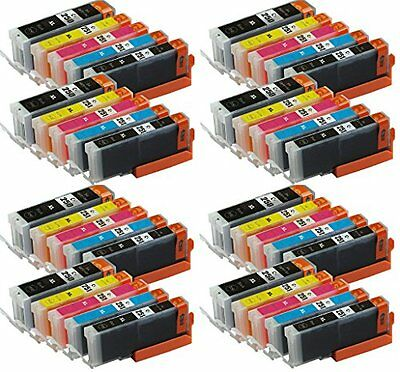 40 Pk New XL Ink Combo Pack for Canon PGI-250 CLI-251 MG5520 MX922 MG5620 MG6620
