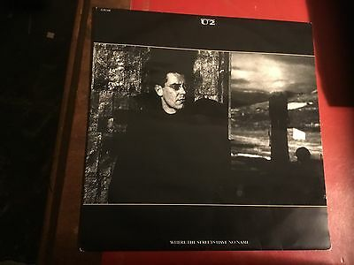 U2 Where The Streets Have No Name Island Records 12IS340 UK 12inch Vinyl Single