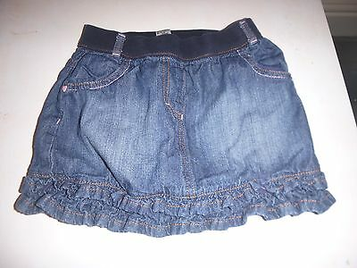 Girls Denim George Skirt Age 5-6