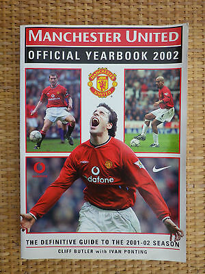 Manchester Umited Yearbook 2002