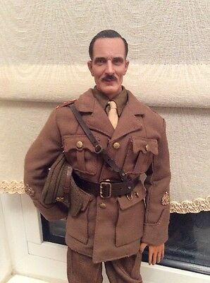 Dragon Action Man British Officer Ww1 Ww2 1/6