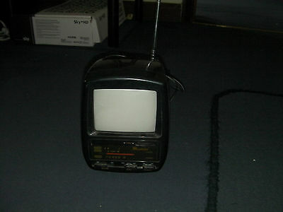 """Vintage Academy 5"""" Black and White TV Collectors Item, NO RESERVE!!!"""