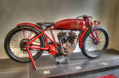 Indian Motorcycle ( red ) Metal Sign