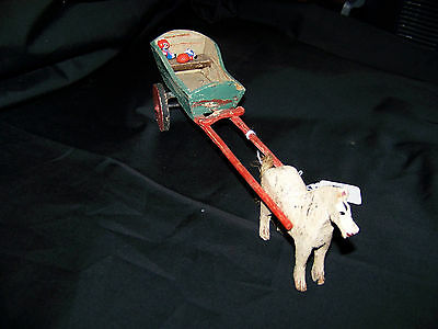 1920's Horse and Cart Toy
