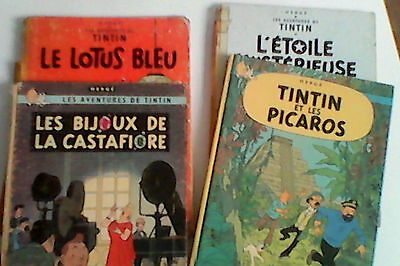 lot eo 4 bd tintin editions originales herge
