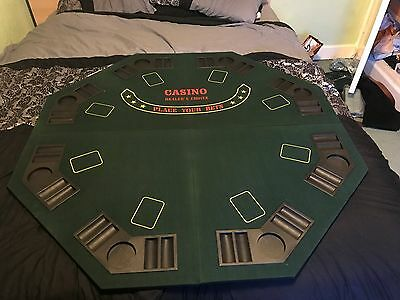 Casino Choice Professional Poker Players Table Top Platform Game Night Accessory