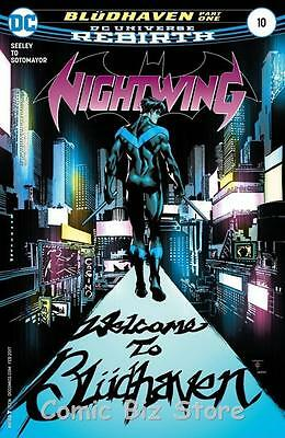 Nightwing #10 (2016) 1St Printing Dc Universe Rebirth Bagged & Boarded
