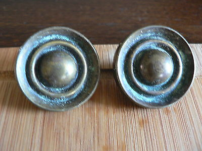 2 Antique Vintage Drawer Pulls Handles Knobs Brass  Canada Ck 1864