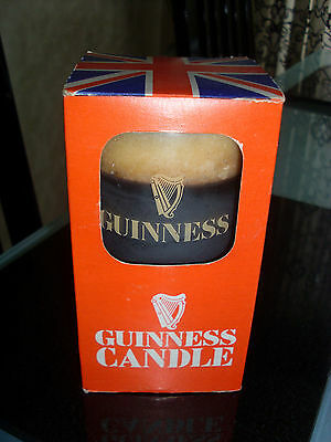 Vintage 1970's Guiness candle.