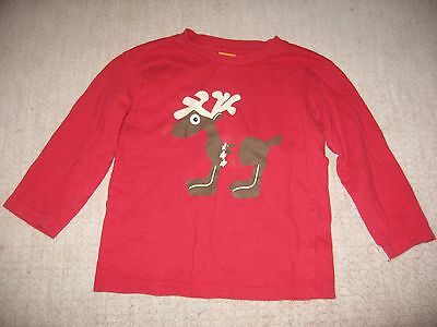 Mini Mode Christmas Long Sleeved Top Age 5-6