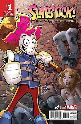 Slapstick #1 (2017) 1St Printing  Bagged & Boarded Marvel Now
