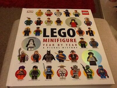 LEGO - BOOK ( MINI-FIGURE YEAR BY YEAR - A VISUAL HISTORY ) Includes figure rare