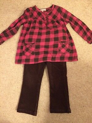 M&S Girl Trouser Outfit Age 1.5-2